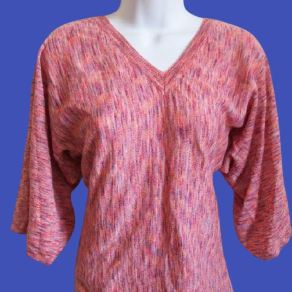 Le Chateau Pink Sweater Small
